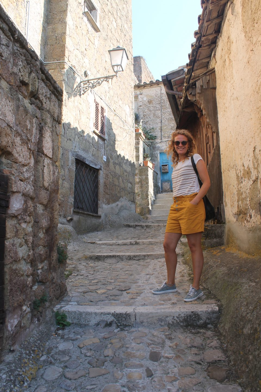 Calcata @posh_backpackers borghi più belli della tuscia