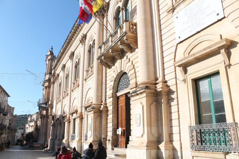 Il commissariato di Montalbano  - sicilia in inverno