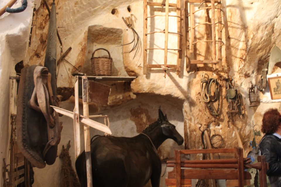 Matera, casa Grotta Vico Solitario