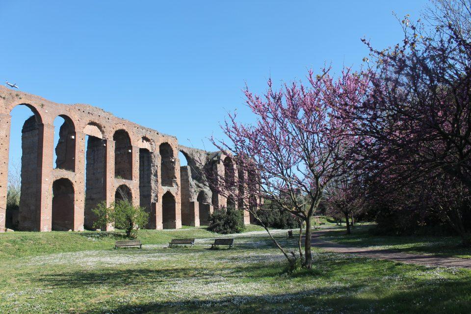 Roma -mete per la primavera