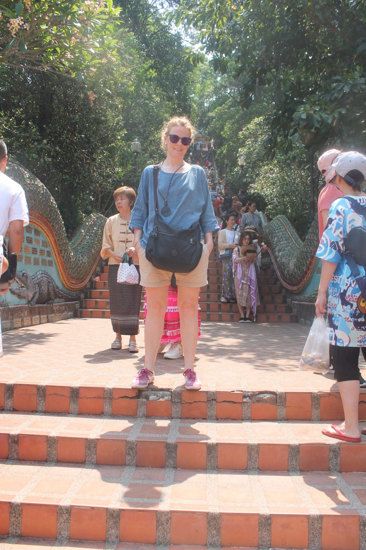 Visitare il tempio Doi Suthep