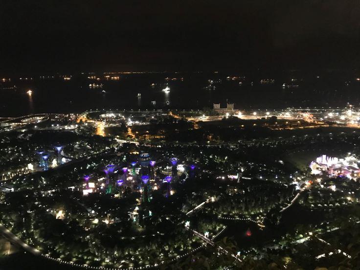 Panorama dal  Marina Bay Sands @aboutmytravel_blog
