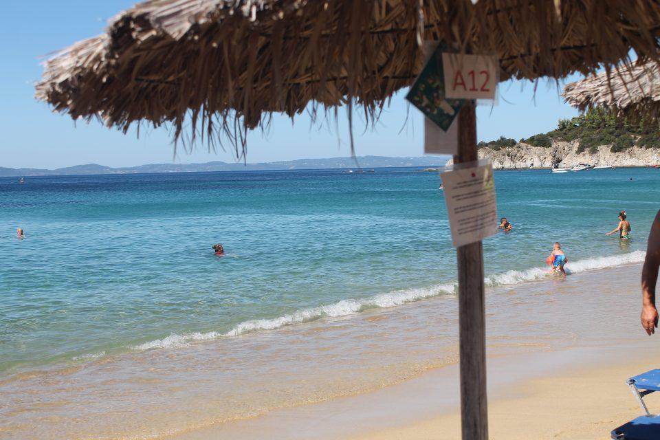 Spiaggia di Toroni @posh_backpackers