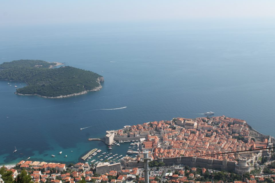 La funicolare di Dubrovnik @posh_backpackers