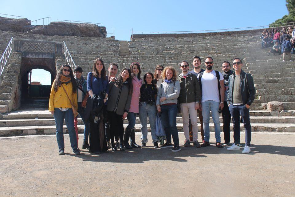 Con Fabio e Nicoletta (Raduno travel bloggers, Roma 2019) @poshbackers intervista