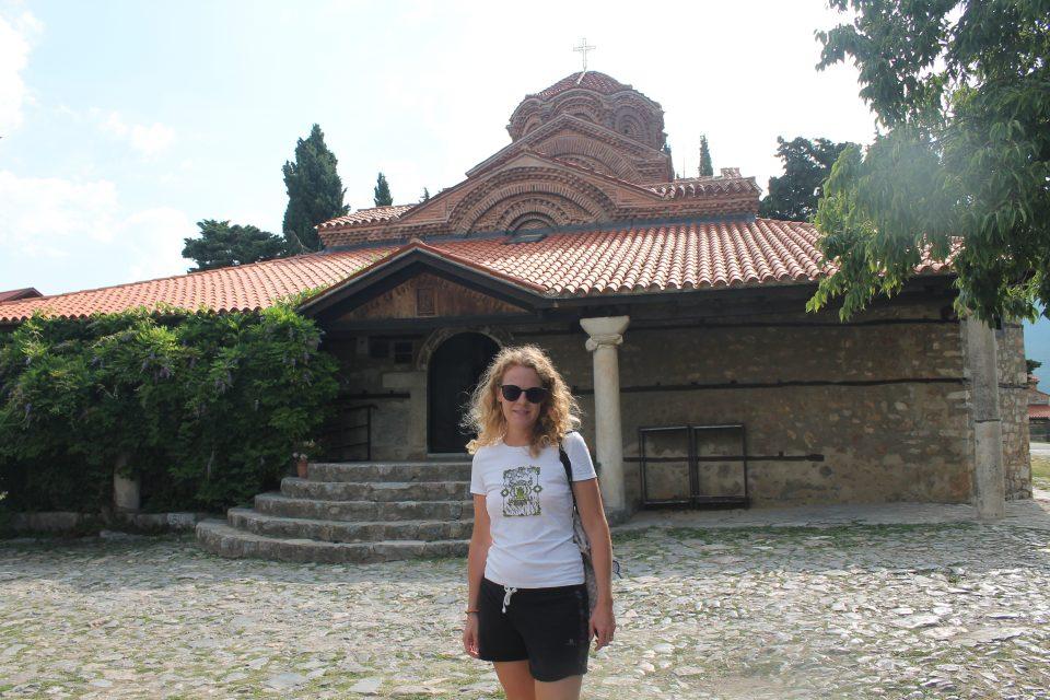 Santa Maria del Peribleptos Ohrid @posh_backpackers