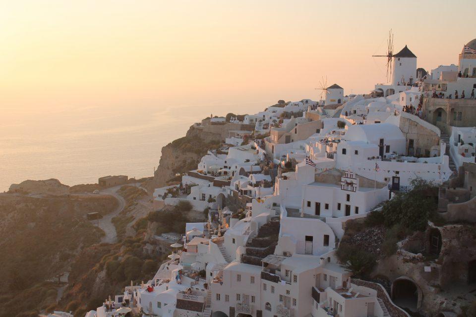 Santorini Itinerario nelle Cicladi