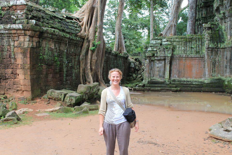 tempio di   Ta Prohm @posh_backpackers