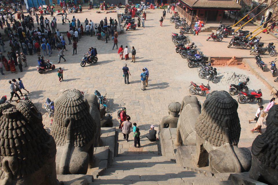 Durbar Square Bhaktapur @posh_backpackers