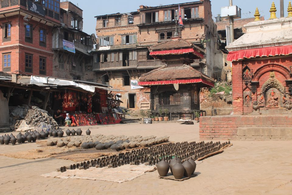 Pottery square, Bhactapur  @posh_backpackers