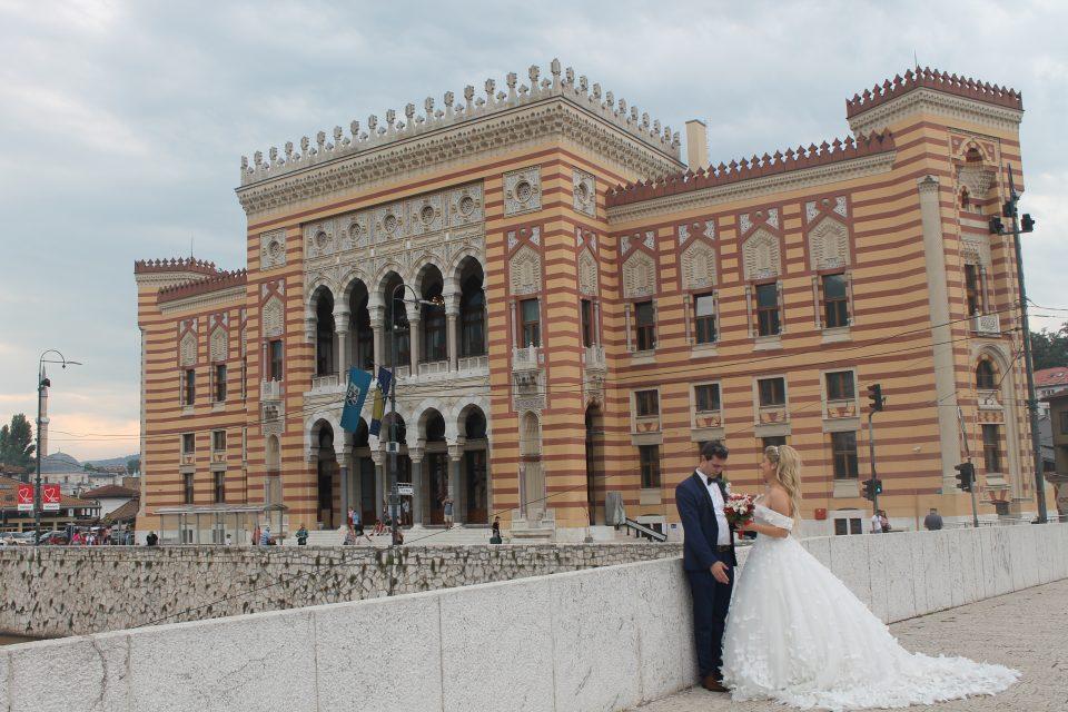 La biblioteca nazionale  Sarajevo