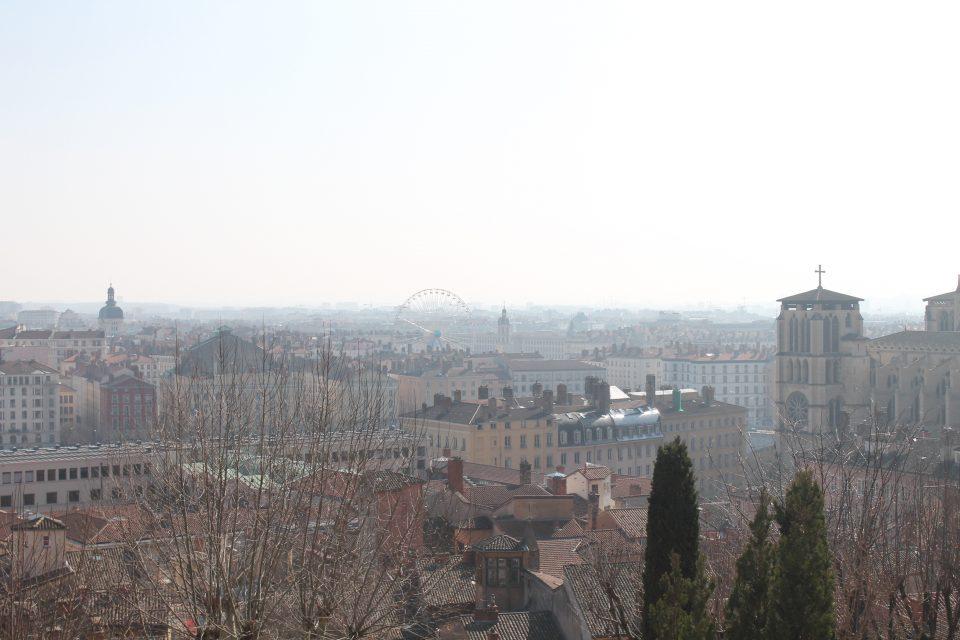 Foto panoramica di Lione @posh_backpackers