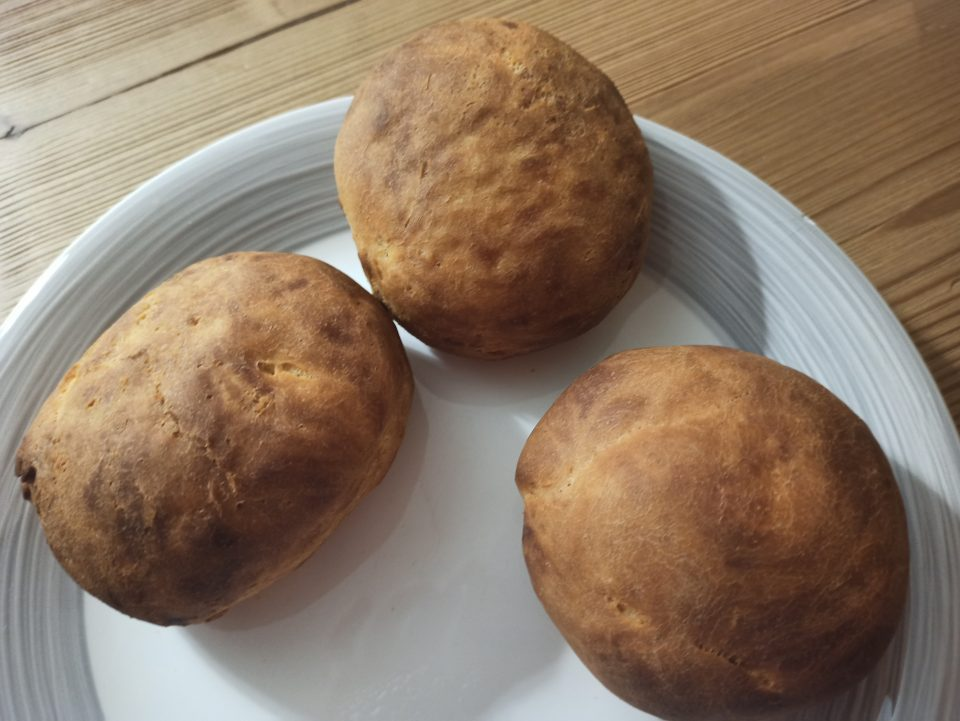 giro del mondo in 5 piatti USA - panini di semola