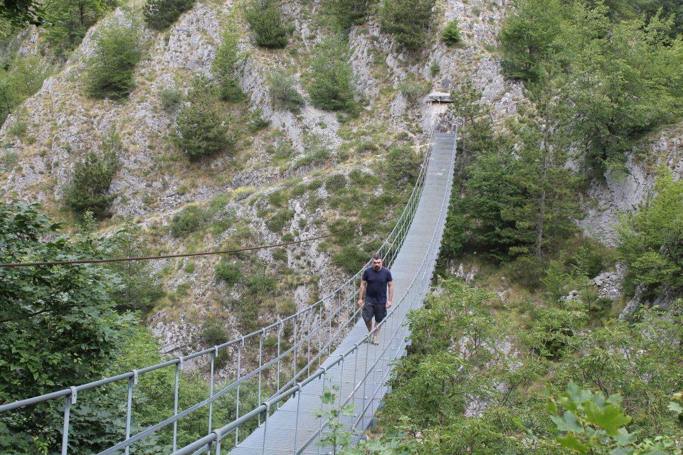 Ponte Tibetano, Roccamandolfi Molise