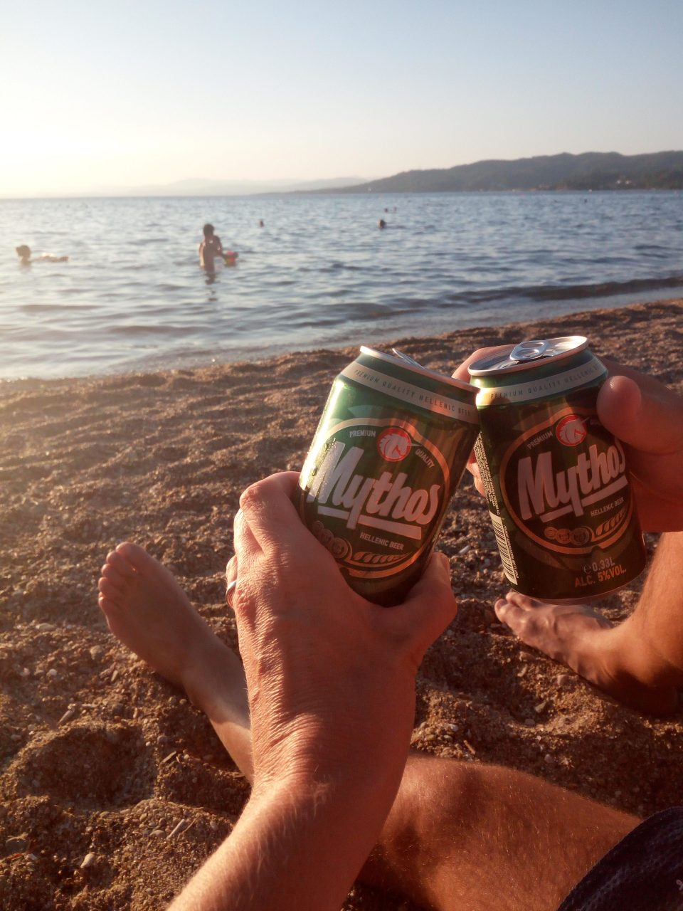 spiaggia cittadina, Neos Marmaras