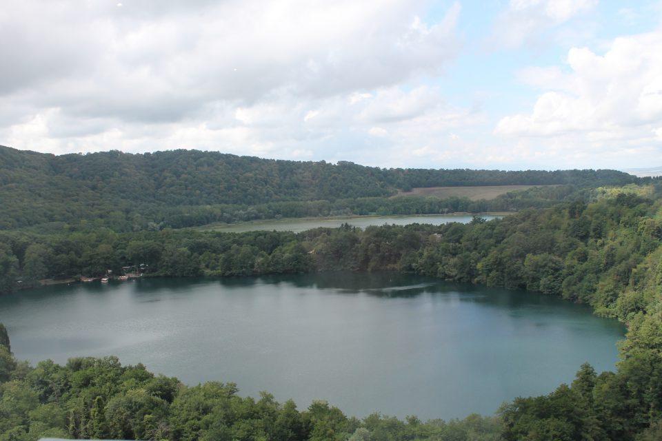 Laghi di Monticchi, vista dall'Abbazia
