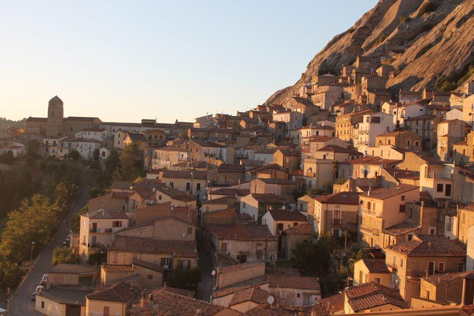 Vista dal nostro appartamento a Pietrapertosa - 6 giorni in Basilicata