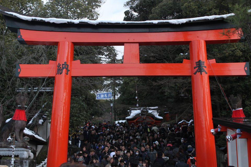 Fushimi Inari - Giappone in inverno