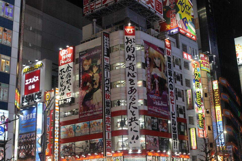 Akihabara, Tokyo ph. @poshbackpackers