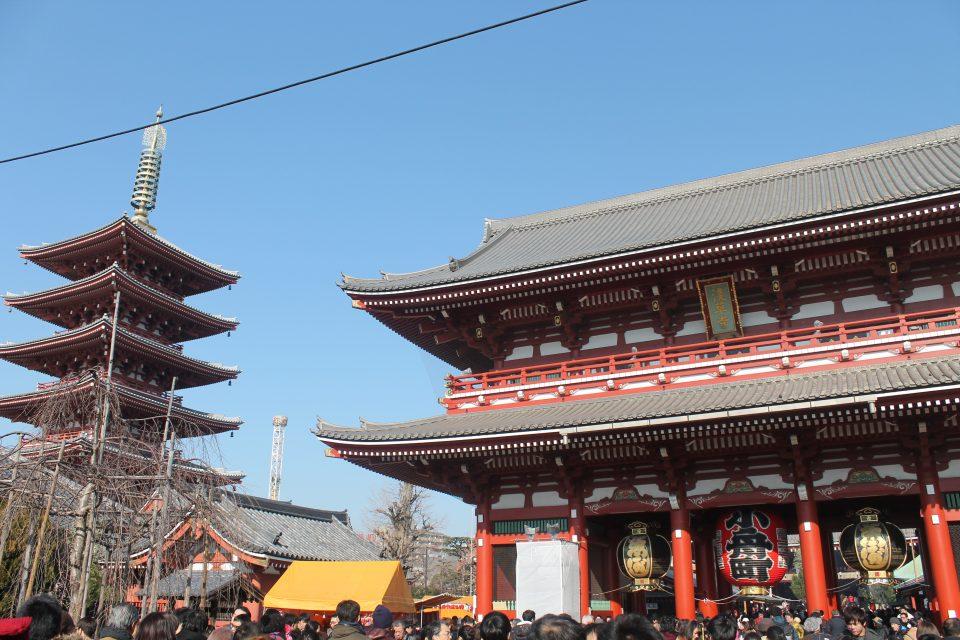 Tempio Sensō-ji Tokyo ph. @poshbackpackers