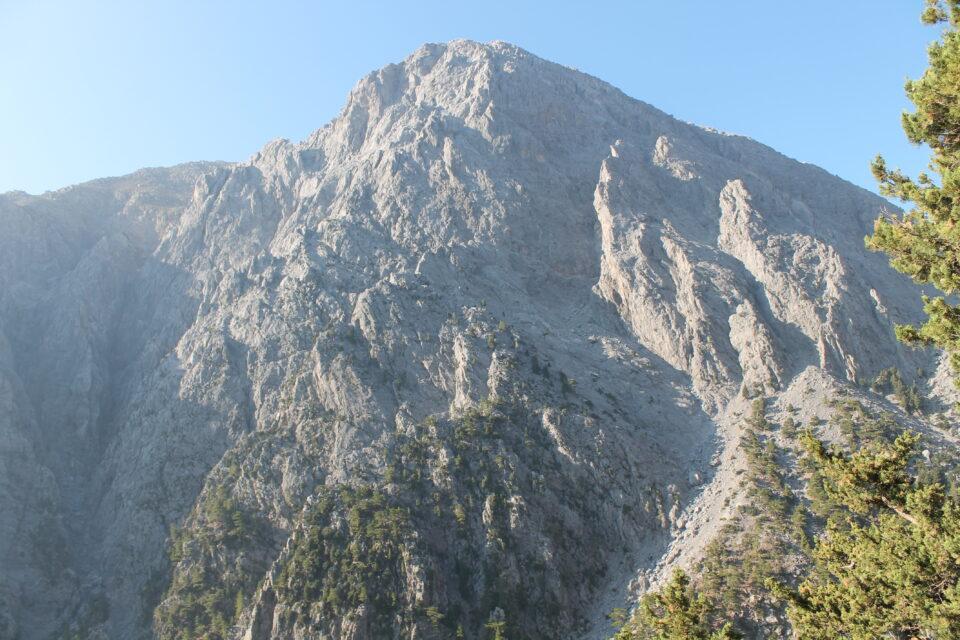il panorama Gole di Samaria ph. @poshbackpackers