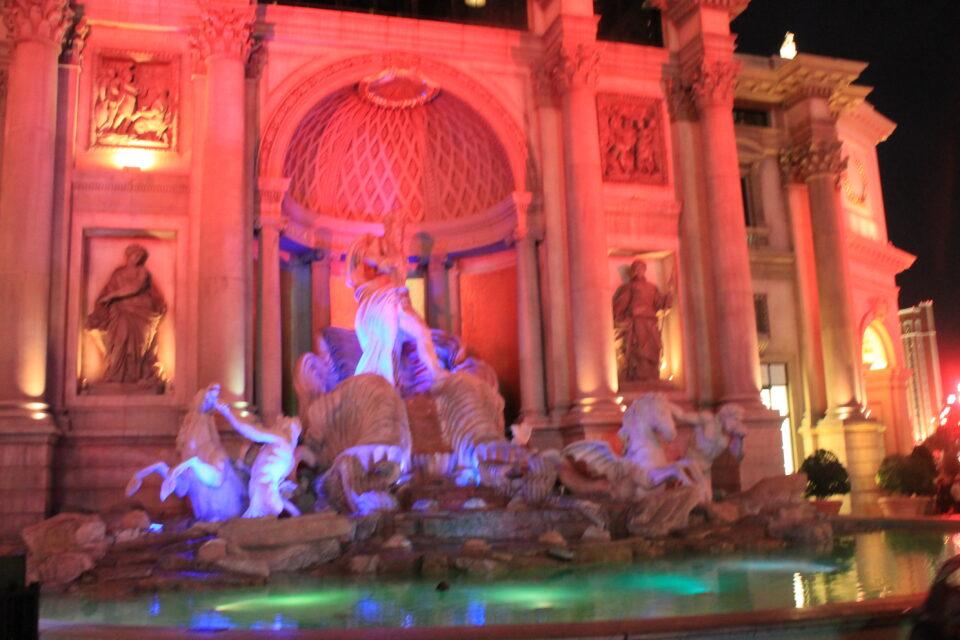 Fontana di Trevi, Las Vegas