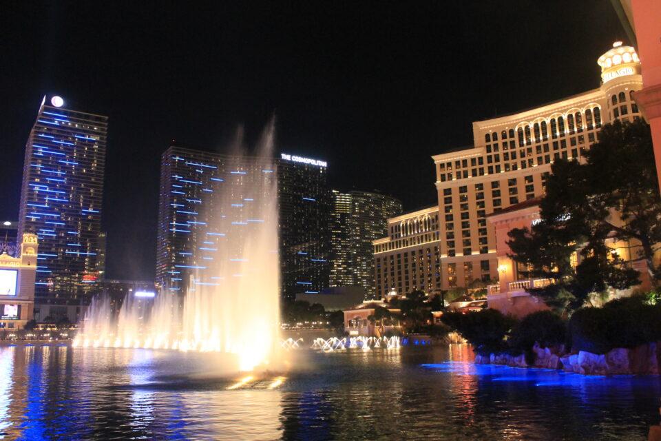 Le fontane del Bellagio @poshbackpackers