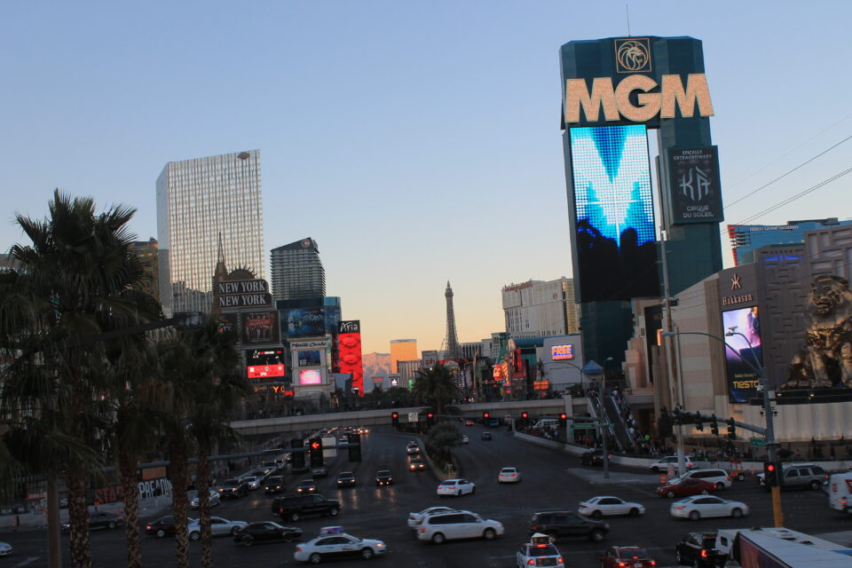 Strip Las Vegas di giorno ph. @poshbackpackers