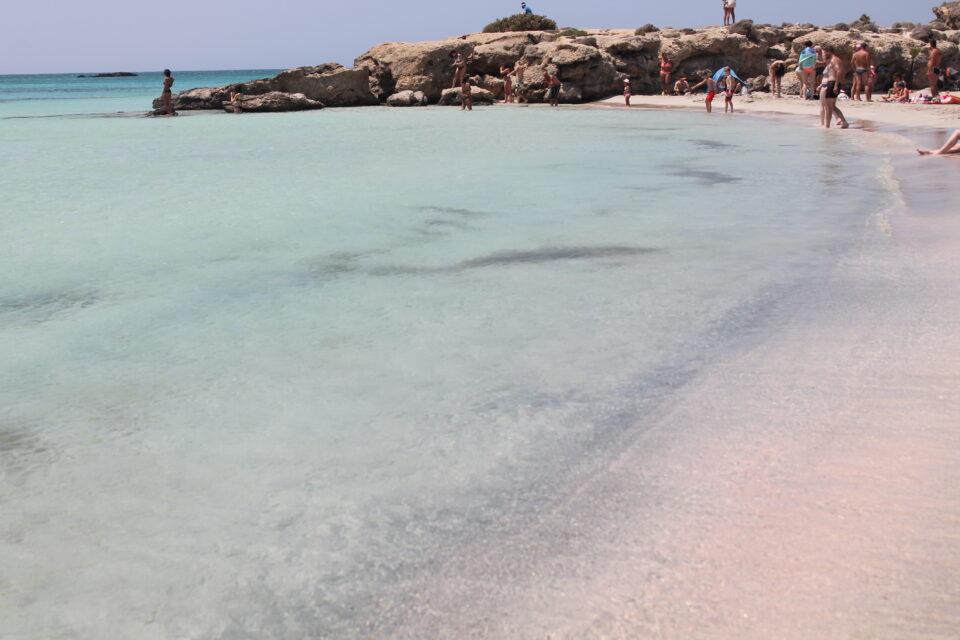 Elafonissi beach, Creta