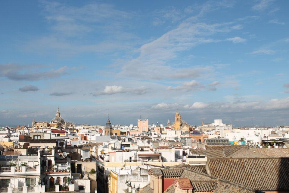 Panorama dalla Cattedrale un weekend a Siviglia