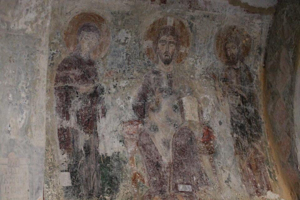 Chiese bizantine vicino Halki - chiesa di San Giorgio