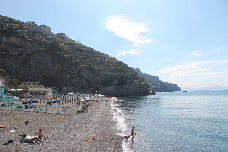 spiaggia Minori