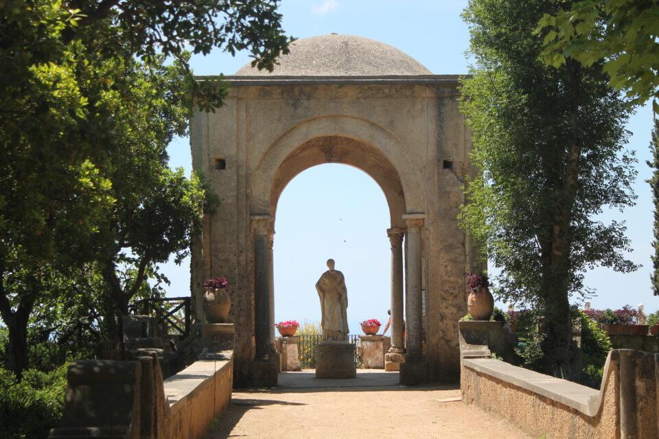 Villa Cimbrone e la terrazza dell'infinito