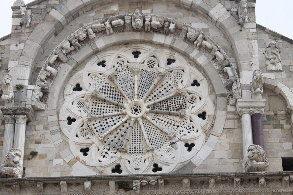 Rosone della cattedrale di Troia - weekend in Daunia