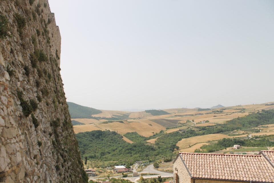 Vista dal castello di Deliceto