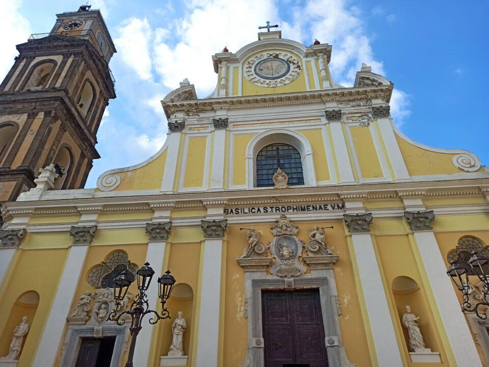 Cosa vedere a Minori - chiesa di Santa Trofimena