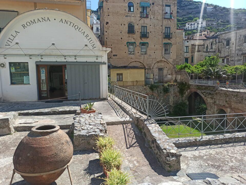 Ingresso della Villa Romana, Minori